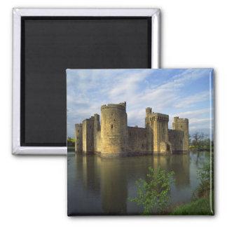 Inglaterra, Sussex, castillo de Bodiam Imán Cuadrado