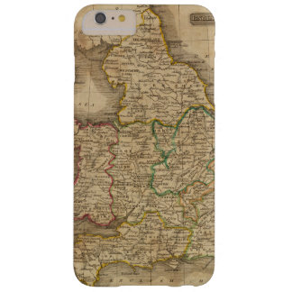 Inglaterra y País de Gales 4 Funda Barely There iPhone 6 Plus