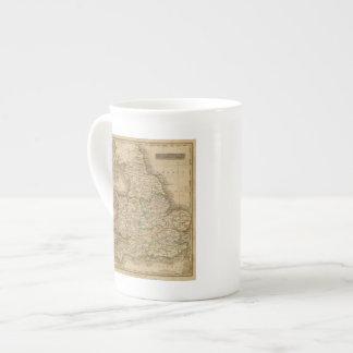 Inglaterra y País de Gales 4 Tazas De Porcelana