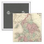 Inglaterra y País de Gales 5 Pin Cuadrado