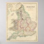 Inglaterra y País de Gales 5 Póster
