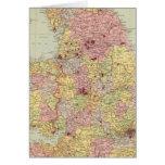 Inglaterra y País de Gales 5 Tarjeta De Felicitación