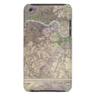 Inglaterra y País de Gales - ciudades, puertos y p iPod Touch Cárcasas