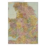 Inglaterra y País de Gales compuestos Tarjeta