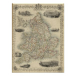 Inglaterra y País de Gales Poster