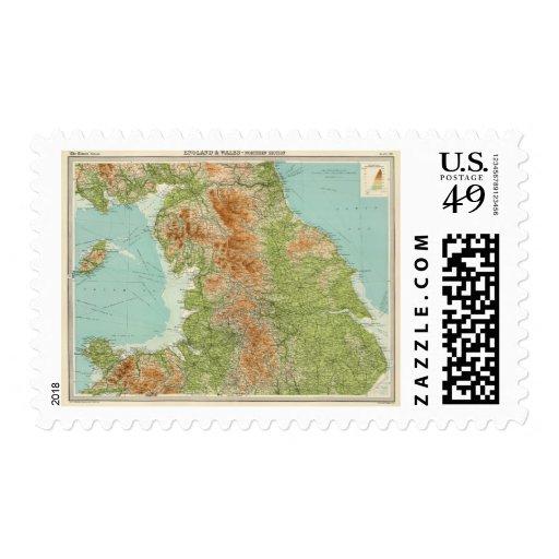 Inglaterra y País de Gales, sección septentrional Sellos