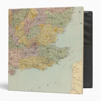 """Inglaterra y País de Gales surorientales Carpeta 1 1/2"""""""