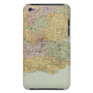 Inglaterra y País de Gales surorientales iPod Case-Mate Carcasas