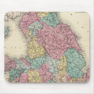 Inglaterra y País de Gales Alfombrilla De Ratones