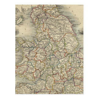 Inglaterra y País de Gales Tarjeta Postal