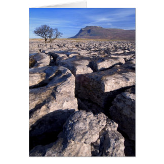 Ingleborough from White Scars, Yorkshire Dales Card