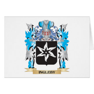 Ingleby Coat of Arms - Family Crest Stationery Note Card