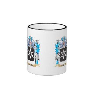 Ingleby Coat of Arms - Family Crest Ringer Coffee Mug