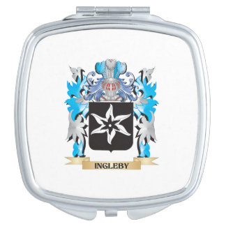 Ingleby Coat of Arms - Family Crest Compact Mirror