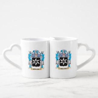 Ingleby Coat of Arms - Family Crest Couples' Coffee Mug Set