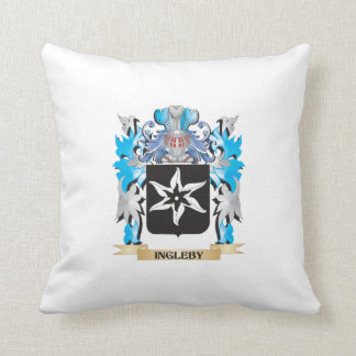 Ingleby Coat of Arms - Family Crest Pillows