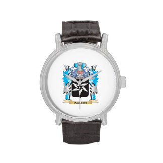 Ingleby Coat of Arms - Family Crest Wrist Watch