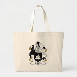 Ingleby Family Crest Jumbo Tote Bag