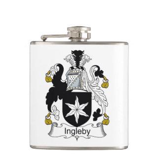 Ingleby Family Crest Flasks