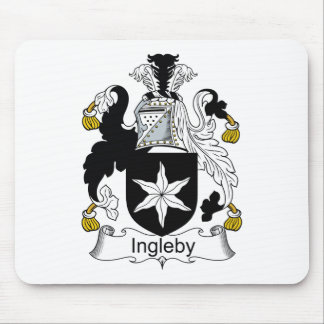 Ingleby Family Crest Mouse Pad