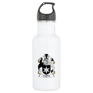 Ingleby Family Crest 18oz Water Bottle