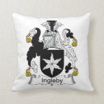 Ingleby Family Crest Pillow