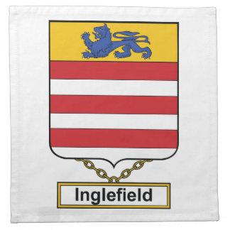 Inglefield Family Crest Cloth Napkin