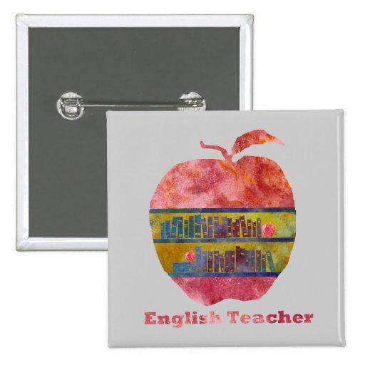 Inglés Apple Pins