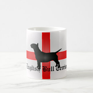 Inglés bull terrier taza blanca clásica de 325 ml