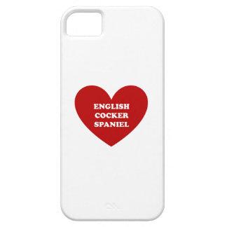 Inglés cocker spaniel funda para iPhone 5 barely there