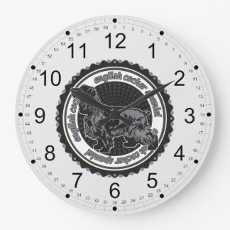 Inglés cocker spaniel reloj