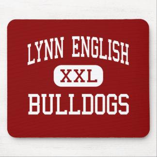 Inglés de Lynn - dogos - alto - Lynn Alfombrilla De Ratones