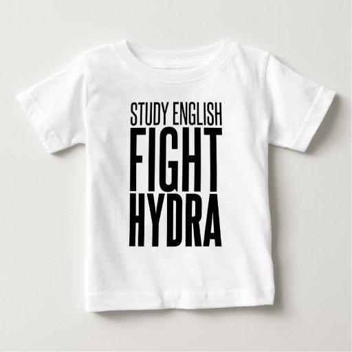 Inglés del estudio, Hydra de la lucha Playera De Bebé