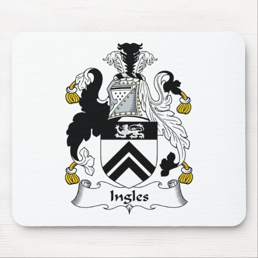 Ingles Family Crest Mouse Pad