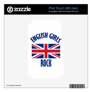 INGLÉS iPod TOUCH 4G SKIN