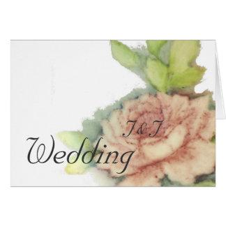 Inglés subió nuestro Tarjeta-Personalizar del boda