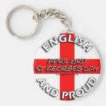 Inglés y orgulloso - llavero