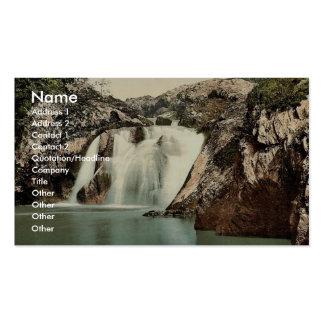 Ingleton, Beesley Falls, Yorkshire, England classi Business Card