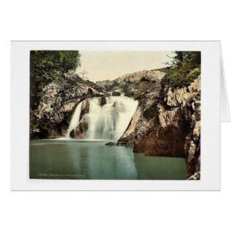 Ingleton, Beesley Falls, Yorkshire, England classi Greeting Card