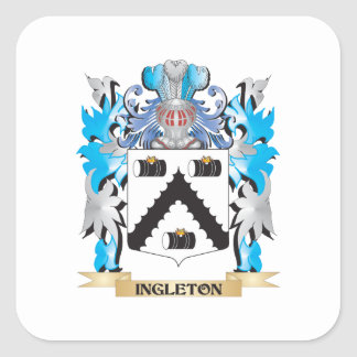 Ingleton Coat of Arms - Family Crest Sticker