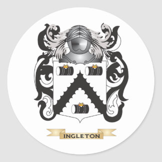 Ingleton Coat of Arms (Family Crest) Stickers