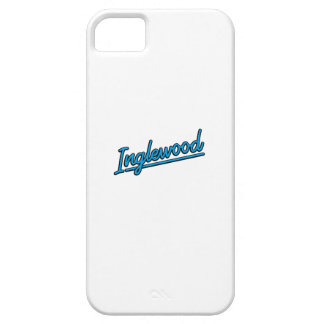 Inglewood in cyan case for iPhone 5/5S