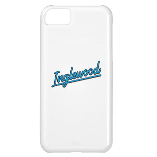 Inglewood in cyan cover for iPhone 5C