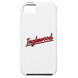 Inglewood in red cover for iPhone 5/5S