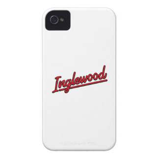 Inglewood in red iPhone 4 cases