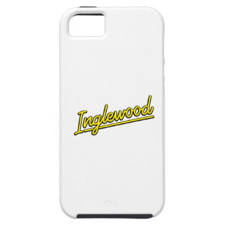 Inglewood in yellow cover for iPhone 5/5S