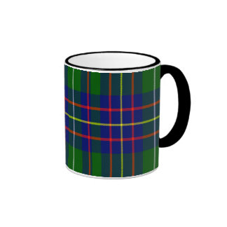 Inglis Scottish Tartan Ringer Coffee Mug