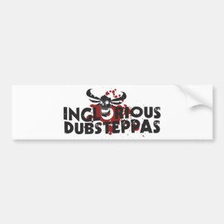 Inglorious Dubsteppas Car Bumper Sticker