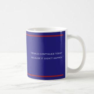 INGOT WE CANNOT TRUST COFFEE MUG