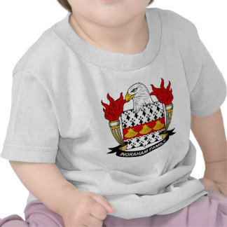 Ingraham Family Crest Tee Shirts